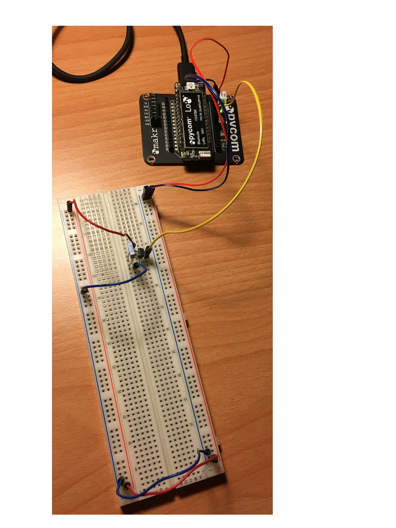 Sending MQTT data to Adafruit IO using a Pycom board